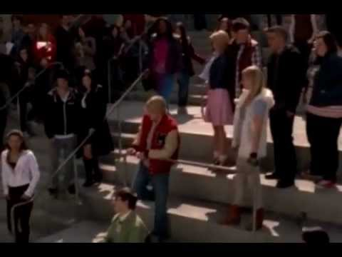 Glee - Somewhere Only We Know (full Performace)- Youtub.flv video