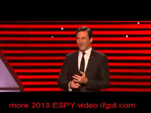 2013 ESPY Awards-Funny talk show against Howard...Lebron James, Dwayne Wayne so happy