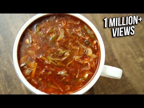Hot And Sour Vegetable Soup | Indo Chinese Recipe | Restaurant Style Hot & Sour Soup | Varun Inamdar
