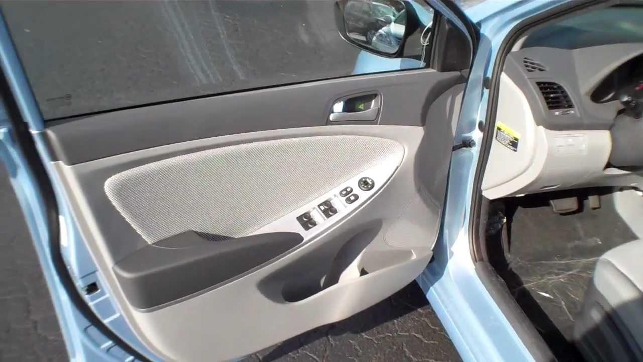 New 2013 Hyundai Accent Interior Tour Youtube