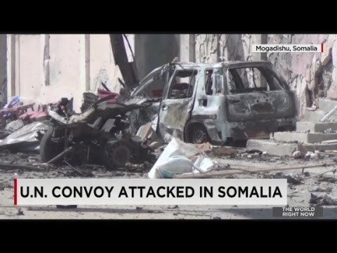 U.N. convoy attacked in Somalia