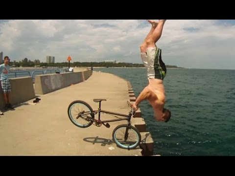 Tim Knoll - 2014 Parkour BMX Most Creative Bike Stunts