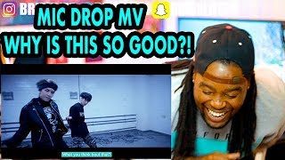Download Lagu BTS | MIC Drop | Steve Aoki Remix' Official MV |BLACK GUY REACTION!!! Gratis STAFABAND