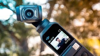 DJI Osmo Pocket WIDE LENS ADAPTER is Perfect For Vlogging