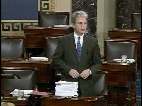 Senator Tom Coburn Higlights Disgust in Congress & Waste in Stimulus (part 1)