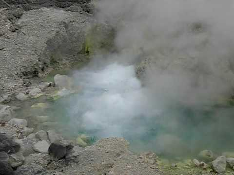 玉川温泉の大噴(おおぶけ) Ohbuke at Tamagawa Onsen