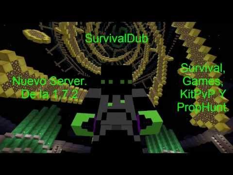 SurvivalDub | Servidor de minecraft 1.7.2 no premium y no hamachi 24 horas