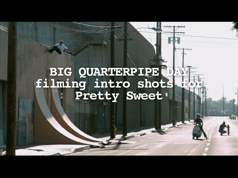 Big Quarterpipe Day from Pretty Sweet