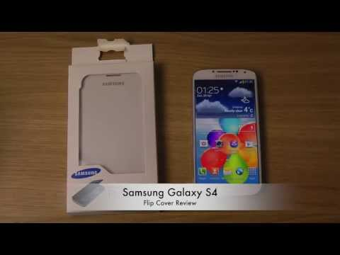 Samsung Galaxy S4 - Flip Cover Review