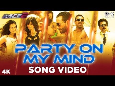 Party On My Mind - Race 2 - Official Song Video Music Videos
