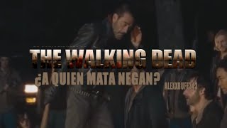 ¿A quien mata negan? - The Walking Dead