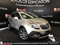 Used Silver 2016 Buick Encore Leather Walkaround Review Lethbridge Alberta