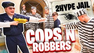 COPS AND ROBBERS IN REAL LIFE!!