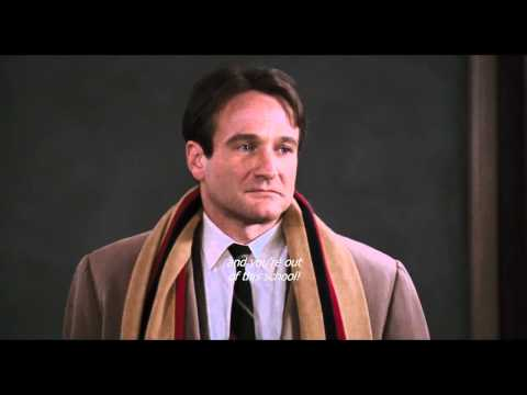 Dead Poets Society - Oh Captain, My Captain (HD & Sub)