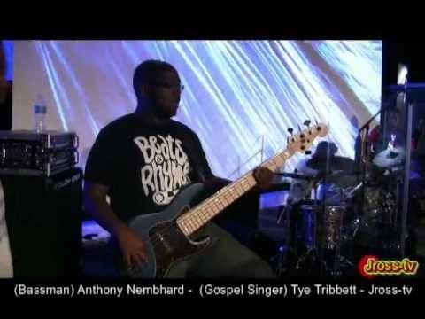 James Ross @ Anthony Nembhard ( Bass) - Tye Tribbett&Team Fresh - Live @ Faith Church - Jross-tv