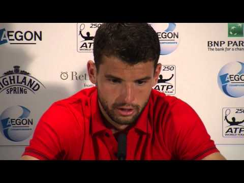 Grigor Dimitrov: Girlfriend Maria Sharapova Is 'unbelievable' video
