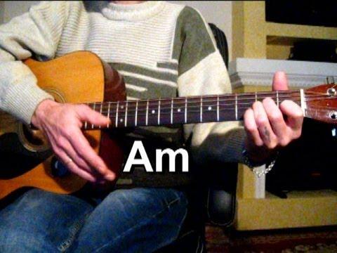 Синяя птица - Там где клен шумит - 2 Тональность ( Аm ) Как играть на гитаре песню