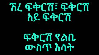 Neway Debebe - Yefikir Emebet የፍቅር እመቤት (Amharic With Lyrics)