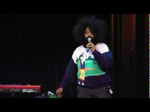 Hilarious, Talented Improviser: Reggie Watts at TEDxUSC 2012
