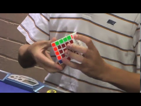 Official 5x5 solve: 1:07.61
