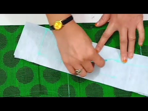 Very Creative and stylish neck design/ latest Halter neck design cutting and stitching for kurti