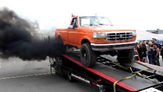 King of trucks- Shawn's Fummins running on the dyno