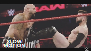 Amazing slow motion footage of Finn Bálor's showdown against Karl Anderson: Exclusive, May 22, 2017