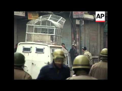 Tear gas fired to quell anti-India protests after death of teenager