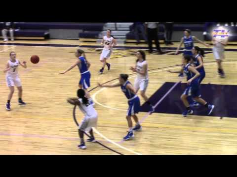 Alfred University Women's Basketball Play of the Week 02.05.16