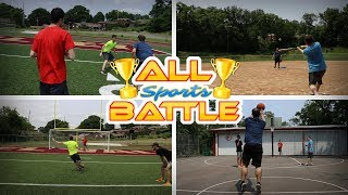 5 MAN ALL SPORTS BATTLE!! WHO'S THE BEST ATHLETE??