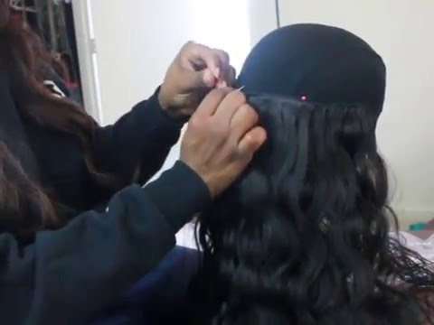 How To Make A U Part Wig Tutorial | Beautiful By So Focused Virgin Malaysian Hair