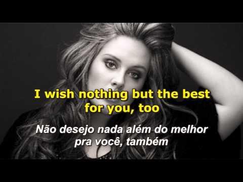 Adele - Someone Like You - Letra e Tradução
