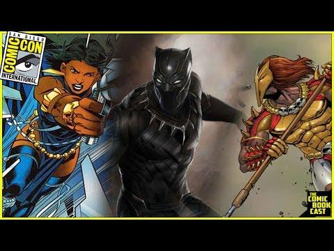 Black Panther Michael B. Jordan & Lupita Nyong Characters Revealed