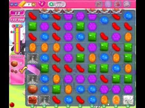 How to beat Candy Crush Saga Level 469 - 3 Stars - No Boosters - 208 ...