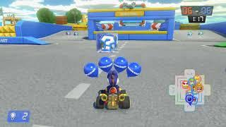 Mario Kart 8 Deluxe Part 131 - Bob-omb-Wurf - SNES Kampfkurs 1