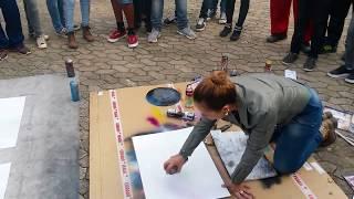 Amazing Spray Painting: street Artwork