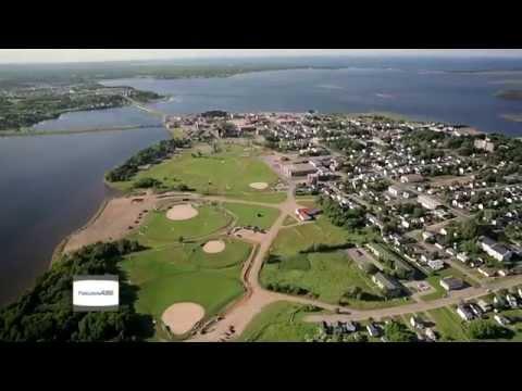 Bathurst New Brunswick helicopter shots 2012 - Bathurst from the air