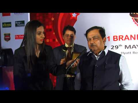 Dr SK Nanda IAS CMD Gujarat State Fertilizer Corporation Ltd Interview on Indias No1 BRAND Awards