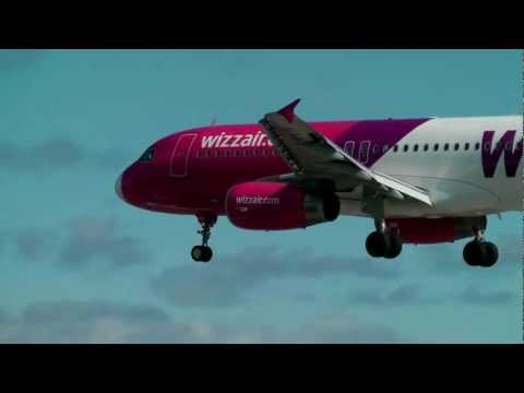 Wizz Air Airbus A320-232 - Smooth Landing @Cork Airport (EICK)