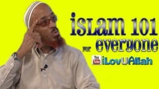 Islam 101 For Everyone| Khalid Yasin 2013
