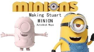 Making Stuart Minion - Autodesk Maya