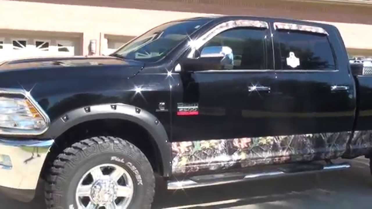 HD VIDEO 2012 RAM 2500 LARAMIE 4X4 DODGE FOR SALE SEE WWW ...