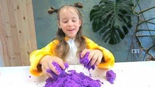Kinetic Sand Mariana the Sorceress, Baby Video