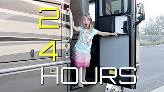 24 Hours in a GIANT RV!
