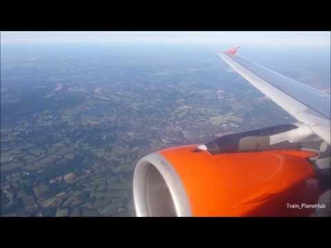 Easyjet Airbus A319-111 | London Gatwick to Brussels *Full Flight*