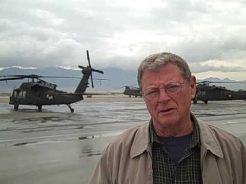 From Afghanistan, Inhofe Responds to Obama's Defense Cuts Saying Obama Will