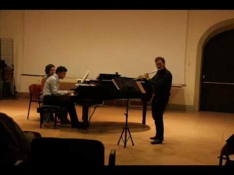Poulenc – Sonata – Mvt. I – II Mattia Giovannini