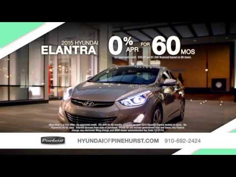 Pinehurst Hyundai Holiday Sales Event