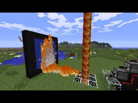 Minecraft full automatic flamethrower (Without mod!) Music Videos