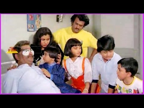 Childrens & His Father Conversation - In Raja Chinna Roja Telugu Movie video